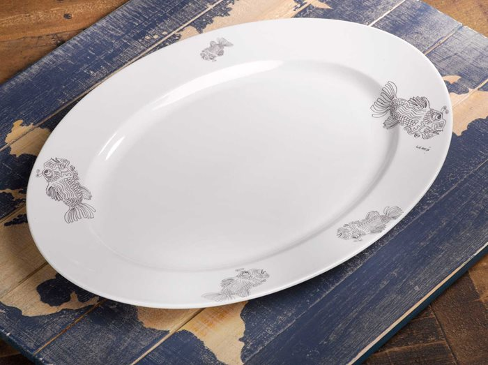 Fish - Large Serving Platter preview