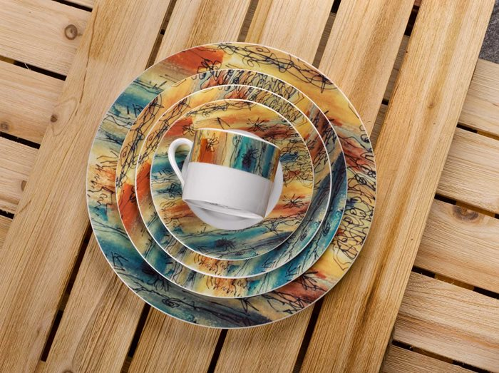 Banyan Trees - 5 Piece Placesetting preview