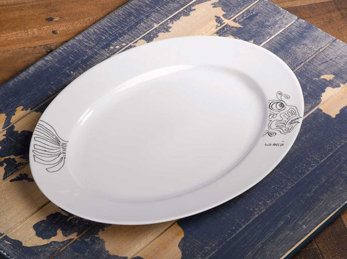 Fish - Medium Serving Platter preview