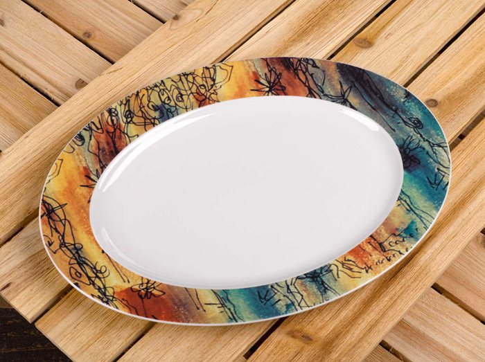 Banyan Trees - Medium Serving Platter preview
